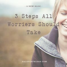 Are you a worrier? You need to read this.   http://dalepartridge.com/worrying-take-away-tomorrows-troubles-takes-away-todays-peace/