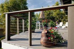 Deck design ideas trex cedar hardwood Alaskan0168 by alaskatreeline, via Flickr