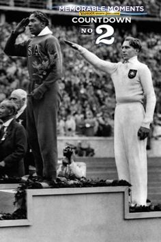 Countdown: No. 2 Jesse Owens winning four golds in front of Hitler