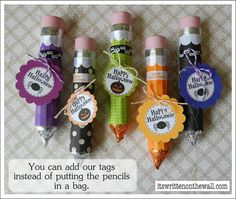 Rolo Pencils! Cute!