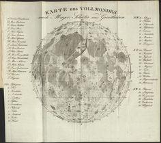 KARTE DE VOLLMONDES 1829.