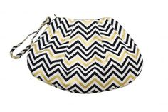 Chevron Shell Clutch Free Pattern: Robert Kaufman Fabric Company