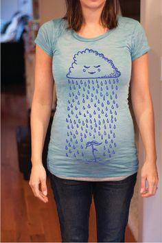 Maternity Tshirt (Lil' Sprout). $28.00, via Etsy.