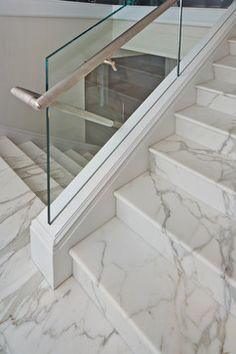 Hamptons Beach House beach style staircase