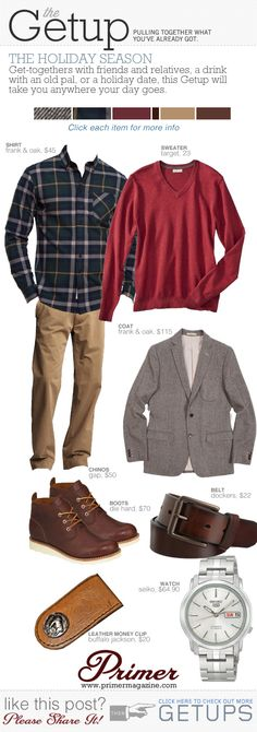 The Getup: The Holiday Season - Primer
