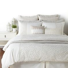 Hudson Park Raindrops Bedding | Bloomingdale's
