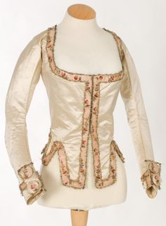 Imatex - Lovely simple and interesting jacket, 1790s?