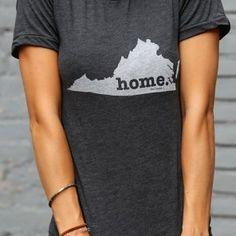 Virginia Home T Shirt on BourbonandBoots.com