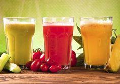 Seis zumos que te ayudan a depurar el organismo #detox #recipes #cuisine