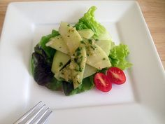 Chayote salad is so yummy! A great chance to try chayote!  #chayotesalad