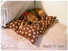 Oooh, easy doggie bed! easi doggi, doggie beds, dog beds, doggi bed