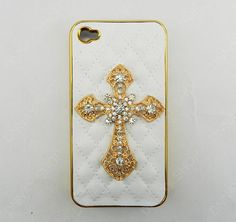 iphone case  cross  leather Phone  case iPhone cover  by dnnayding, $21.99