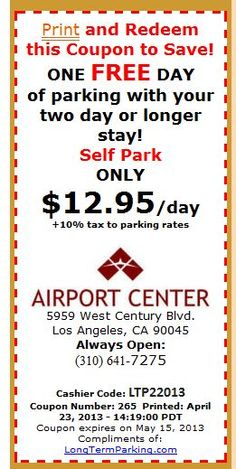park n fly lax coupon code