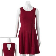 LC Lauren Conrad Textured Fit & Flare Dress - Women's #Kohls