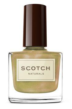metallic scotch naturals nail polish