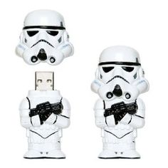 Amazon.com: Star Wars Storm Trooper USB Drive 4GB: Electronics - StyleSays