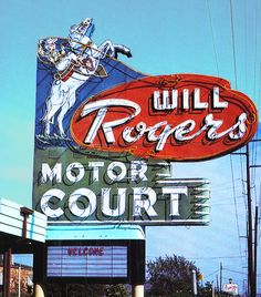 Will Rogers Moter Court - Route 66  - Tulsa Oklahoma