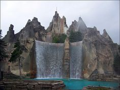 Wonder Mountain, Canada's Wonderland is a 330-acre (130 ha) amusement park located in Vaughan, Ontario, Canada, a suburb directly north of Toronto, Ontario, Canada. The park is open seasonally from May to October and contains more than 200 attractions (including sidestall and redemption games and video arcades) in eight differently themed areas. It opened in 1981 and was Canada's first major theme park and is still today the largest and most popular theme park in Canada.