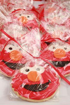 Elmo birthday party favors