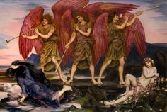 Aurora Triumphans - Evelyn De Morgan. © Russell-Cotes Art Gallery and Museum