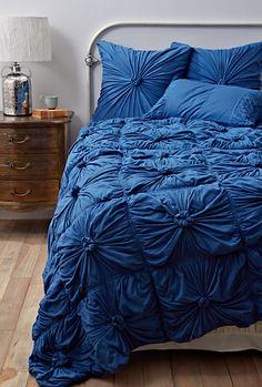 royal blue comforter