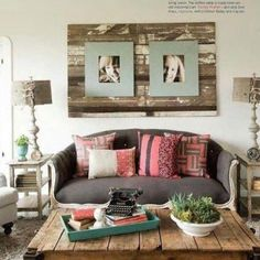 Wall Pallets - Follow all the BOUND4BURLINGAME boards, including Pallet Projects 101 at www.pinterest.com/bound4burlingam