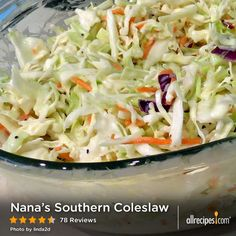 """""""Just an old family recipe that I have been told is reminiscent of KFC coleslaw. You be the judge! To speed things up I sometimes just buy an already shredded bag of cabbage with carrots in it and then just chop it a little finer."""" - Recipe by Krissy"""
