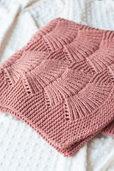 Camilla Blanket | by carrie bostick hoge in quince & co. osprey clay