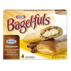 Bagel-fuls Cinnamon and Brown Sugar Bagel with Cinnamon Cream Cheese