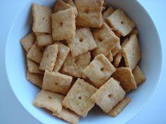 Gluten-free and Vegan Cheez-Its #glutenfreevegan