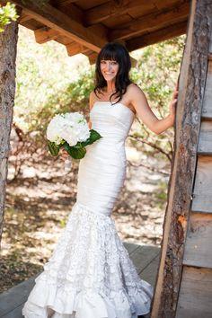 Oscar de la Renta gown! More on http:/william.thecphoto.com galleries, wedding dressses, ruffl, wedding ideas, the dress, gown, mermaid dresses, gorgeous oscar, bride
