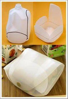 reciclaje de bidón plástico