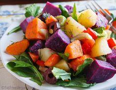 Navas Three-Potato Salad with Arugula