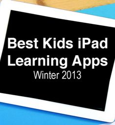 great round-up of educational ipad apps for kids from Imagination Soup
