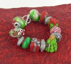 Once you're done adorning the Christmas tree, adorn your wrist with the Merry and Bright Clay Bead Bracelet. Make DIY jewelry that jingles all the way with this polymer clay tutorial. Learn how to make polymer clay beads that look like peppermints, presents, tiny trees, and more!