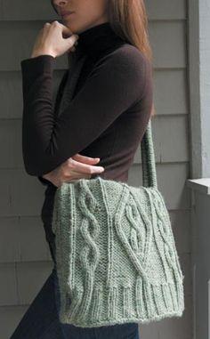 Sweater Bag - free pattern