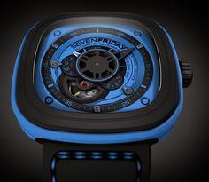 Sevenfriday Automation Series Blue