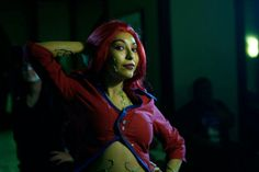 Poison Ivy Arkham Asylum Cosplay on Pinterest