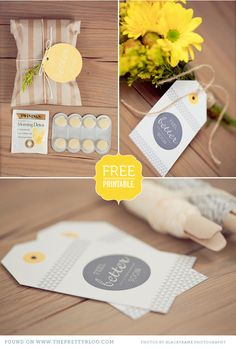 Free Printables )Tags, cards and backgrounds.