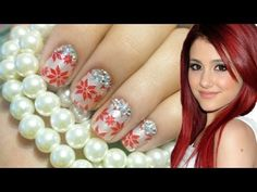 Christmas Nails ♥ Ariana Grande Inspired