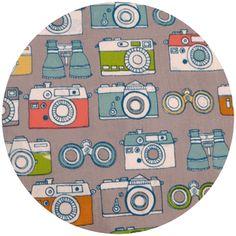 cute camera fabric