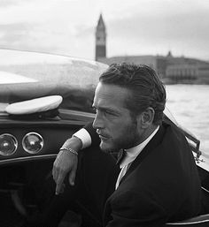 Idk,what it is about older handsome men,but dang it I love their more mature n well put together look! ;-) n Paul Newman is perfect example of a beautiful and kind man! Looove that! ;-) paul newman, icon, peopl, style, festivals, venice, paulnewman, men, film festival