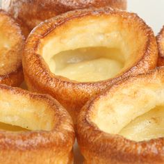 Yorkshire Puddings. Part of mums Sunday lunch that I can't get enough of. She makes the best Yorkshire puddings!