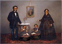 [Family Portrait]  William L. German (American)  ca. 1855