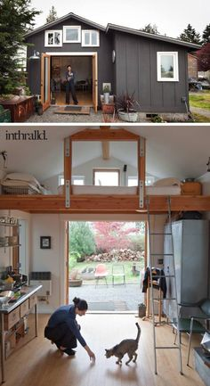 Garage converted into a home
