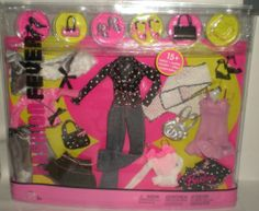 Barbie Fashion Fever Closet Assortment of Clothes | eBay