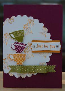 Julie's Japes: Stamp a Stack/Team Birthday card