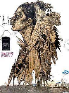 love Swoon. my favorite street artist