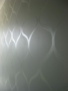 Another simple gloss/flat wall design