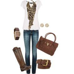 leopard scarf love